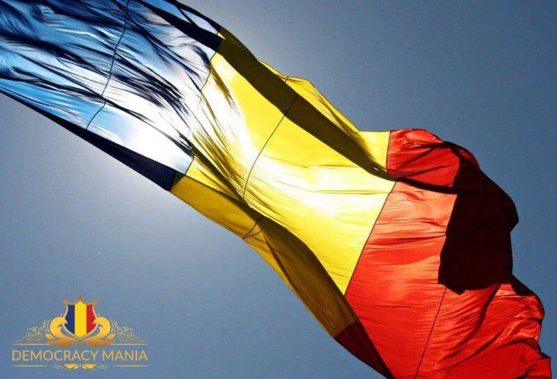 democracy mania steag romania unire Implică-te, votează, contribuie la consolidarea democrației!