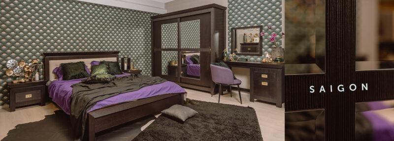 156 colectia saigon dormitor Seturi mobilier pentru un dormitor elegant