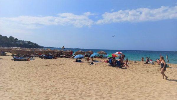 plaje - plaja Makris Gialos