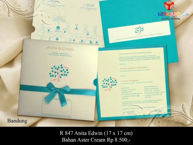 undangan pernikahan Anita Edwin