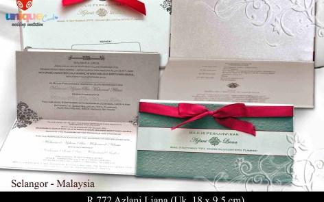 undangan pernikahan Azlani Liana