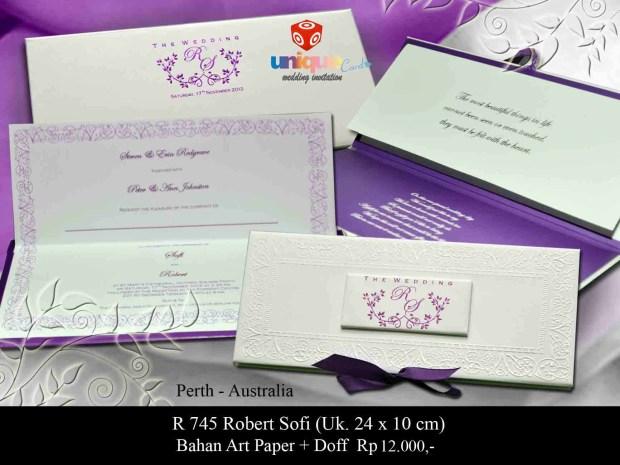 wedding invitation perth aussie Sofi Robert