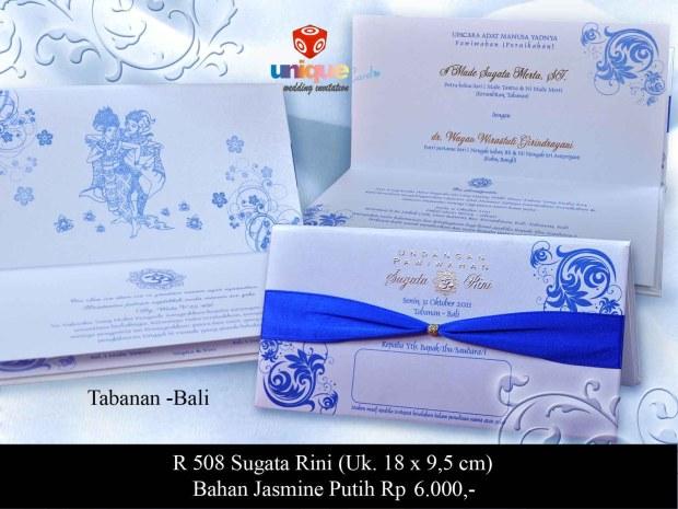 undangan hardcover Sugata Rini