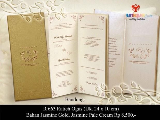 kartu undangan Ratih - Ogus
