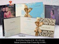 undangan hard cover Ria Hamka