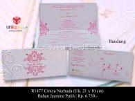 undangan perkawinan Cintya Nurhuda