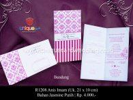 undangan pernikahan Annis Imam