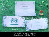 undangan pernikahan Deby Adi