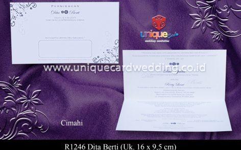 undangan soft cover Dita Berti