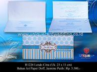 undangan pernikahan Lendo Citra