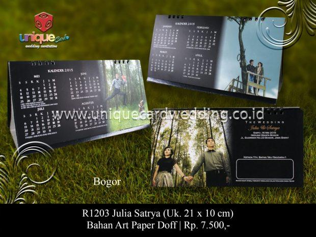 Undangan Pernikahan Julia Satrya