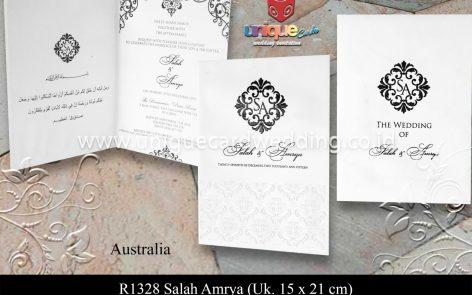 Undangan Pernikahan Salah Amrya