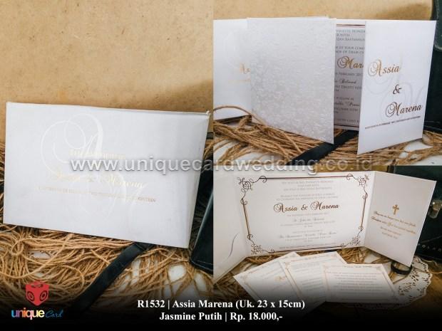 undangan pernikahan assia marena