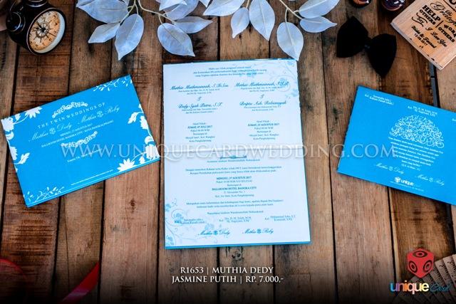 undangan pernikahan muthia dedi