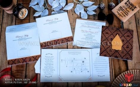 undangan pernikahan ririn ardy