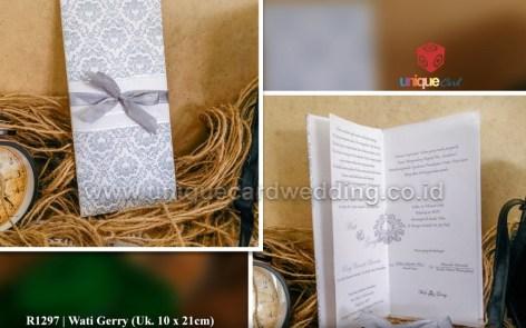 undangan pernikahan wati gerry
