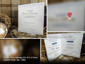 undangan pernikahan wina bintang