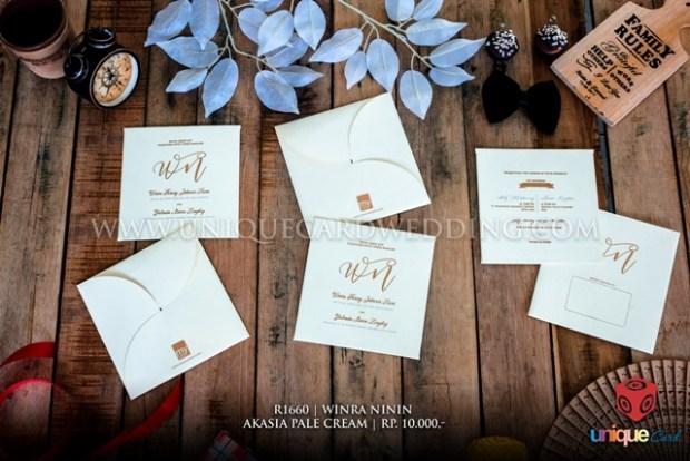 undangan pernikahan winra ninin