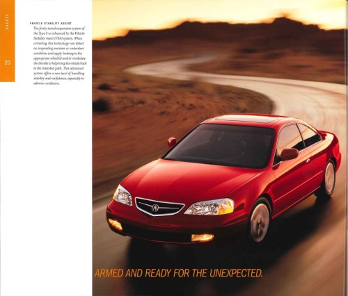 small resolution of 2001 acura cl brochure page 32