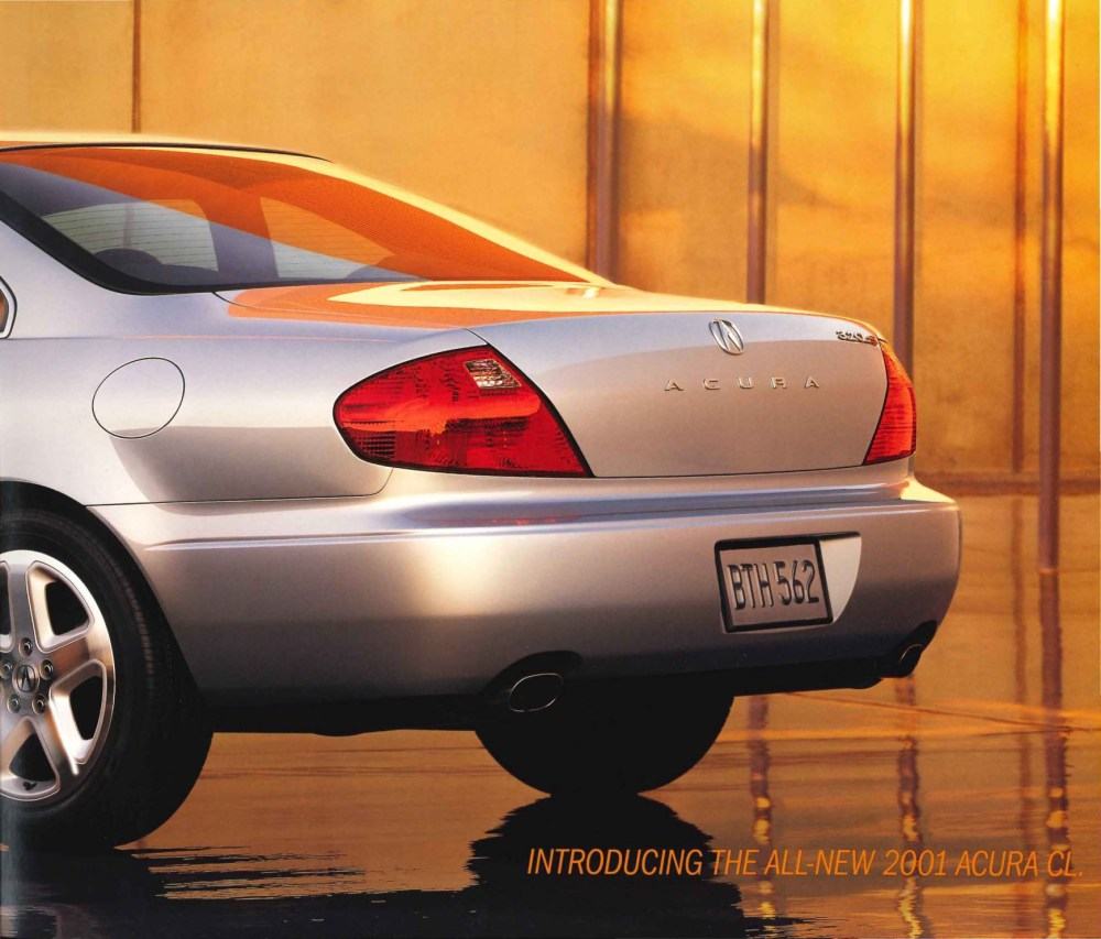 medium resolution of 2001 acura cl brochure page 8