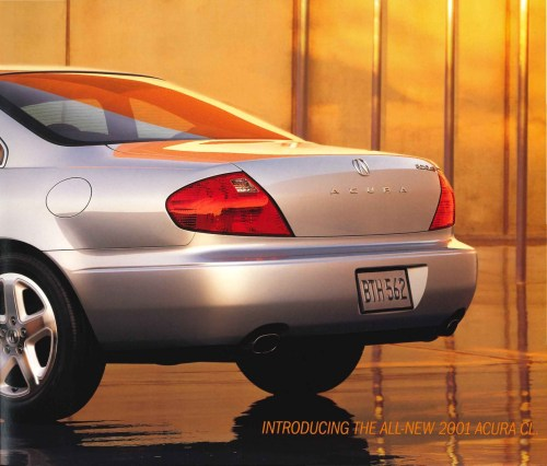 small resolution of 2001 acura cl brochure page 8