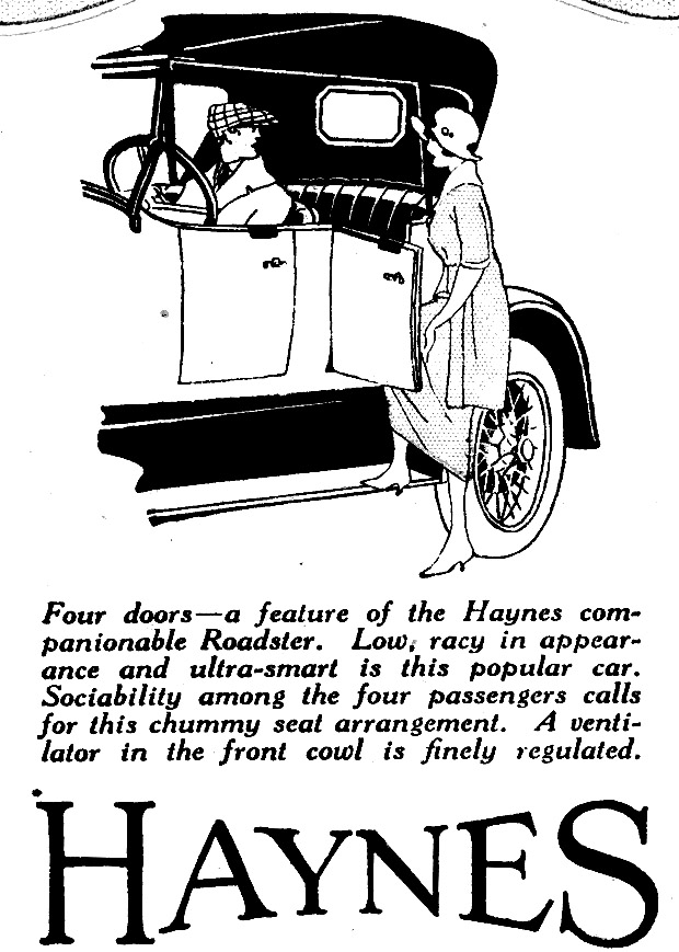 American Automobile Advertising published by Haynes