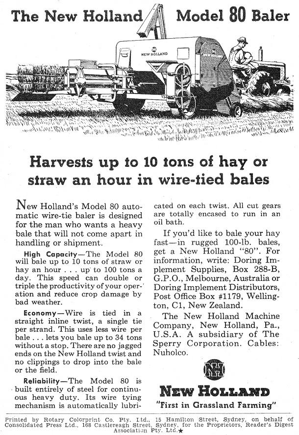 1953 Australian Auto Advertising