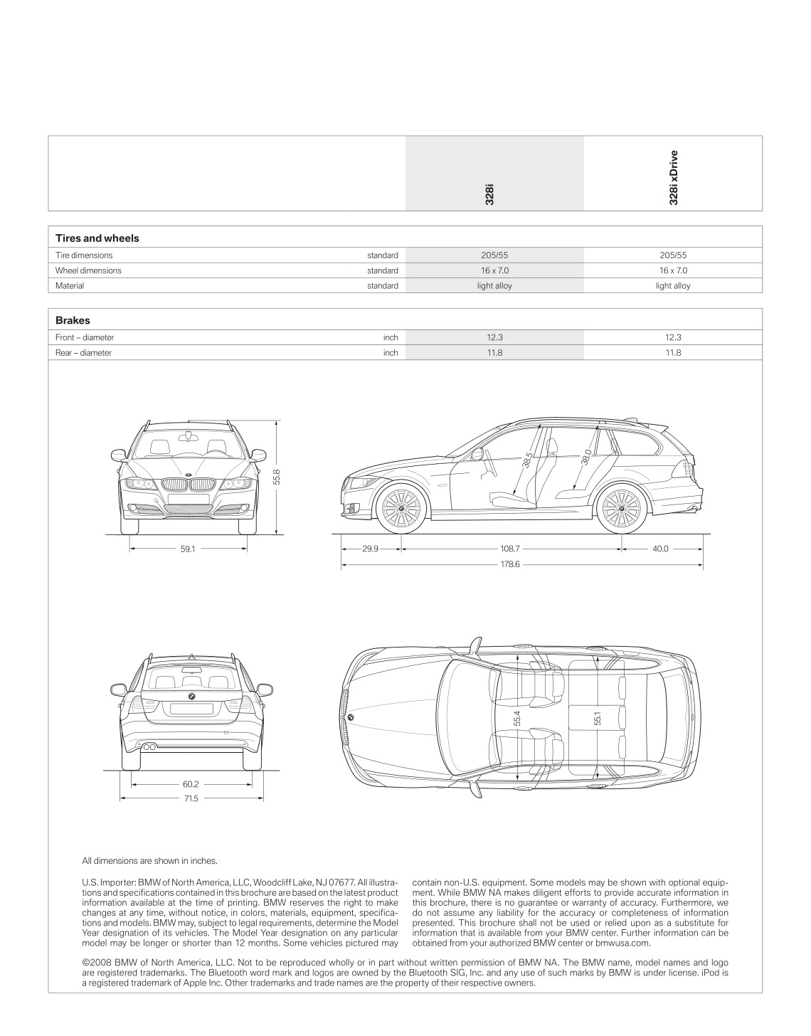 hight resolution of 2009 bmw 3 series wagon brochure page 28