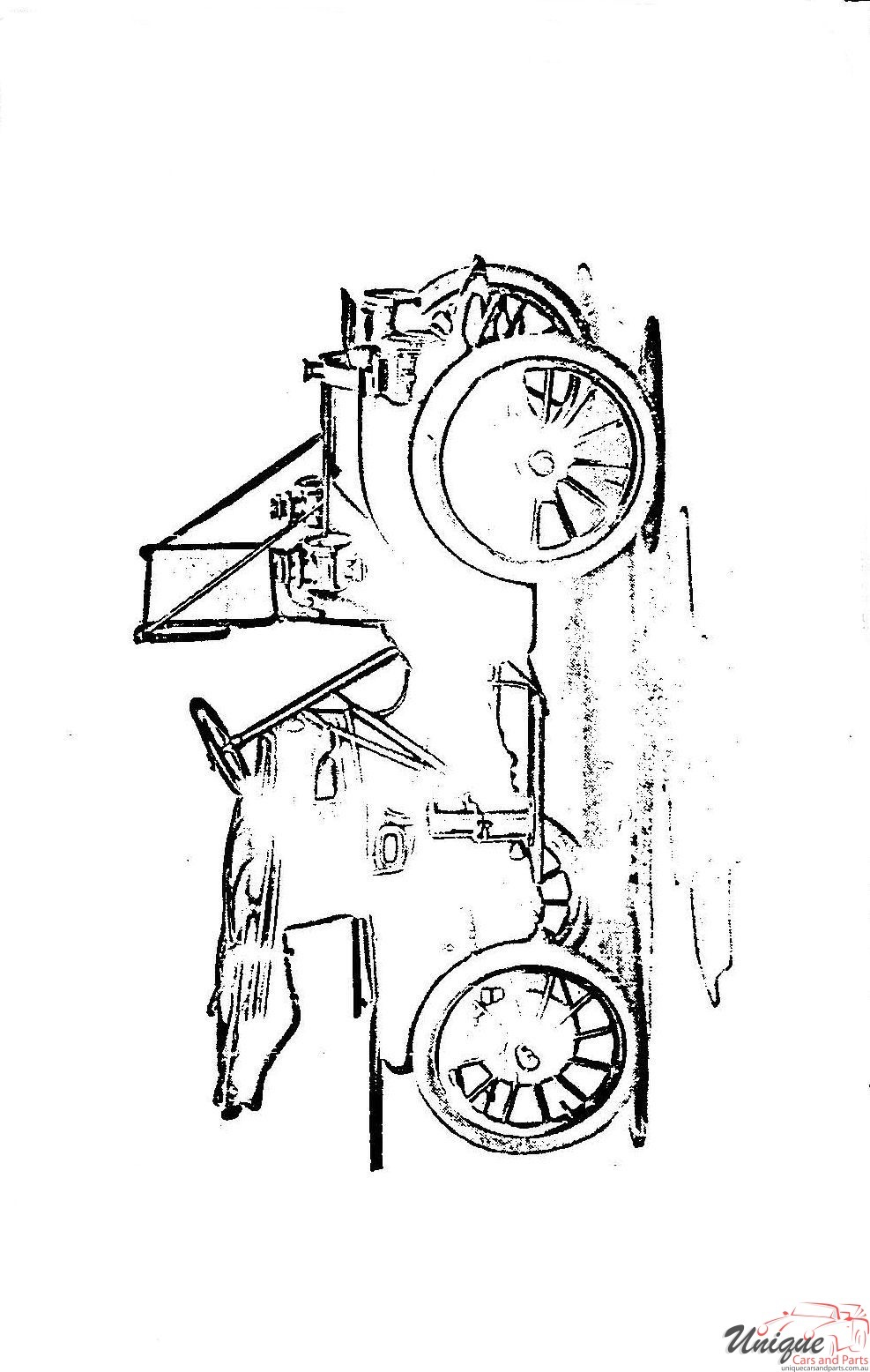 1910 Buick Model 14 Operating Instructions