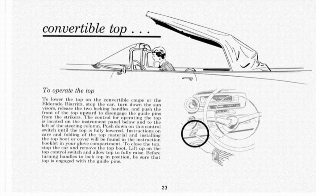 1959 Cadillac Owners Manual