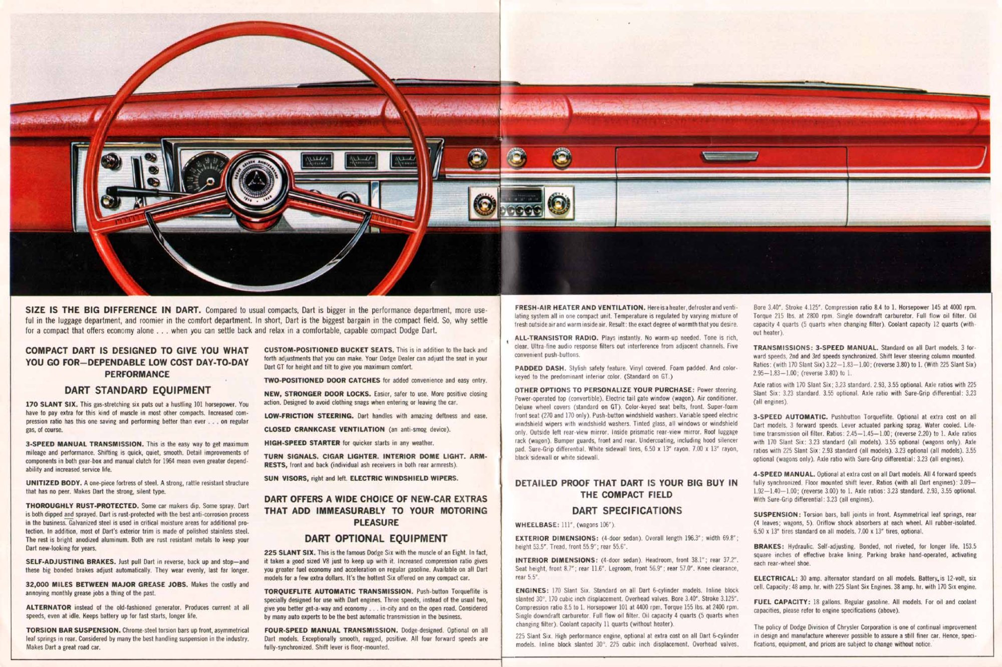 hight resolution of 1964 dodge dart brochure page 6