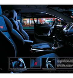2006 honda civic coupe brochure page 14 [ 2134 x 1648 Pixel ]