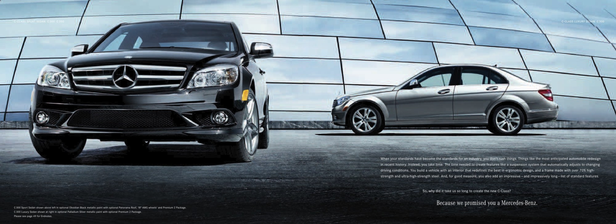 hight resolution of 2008 mercedes benz c class brochure page 2