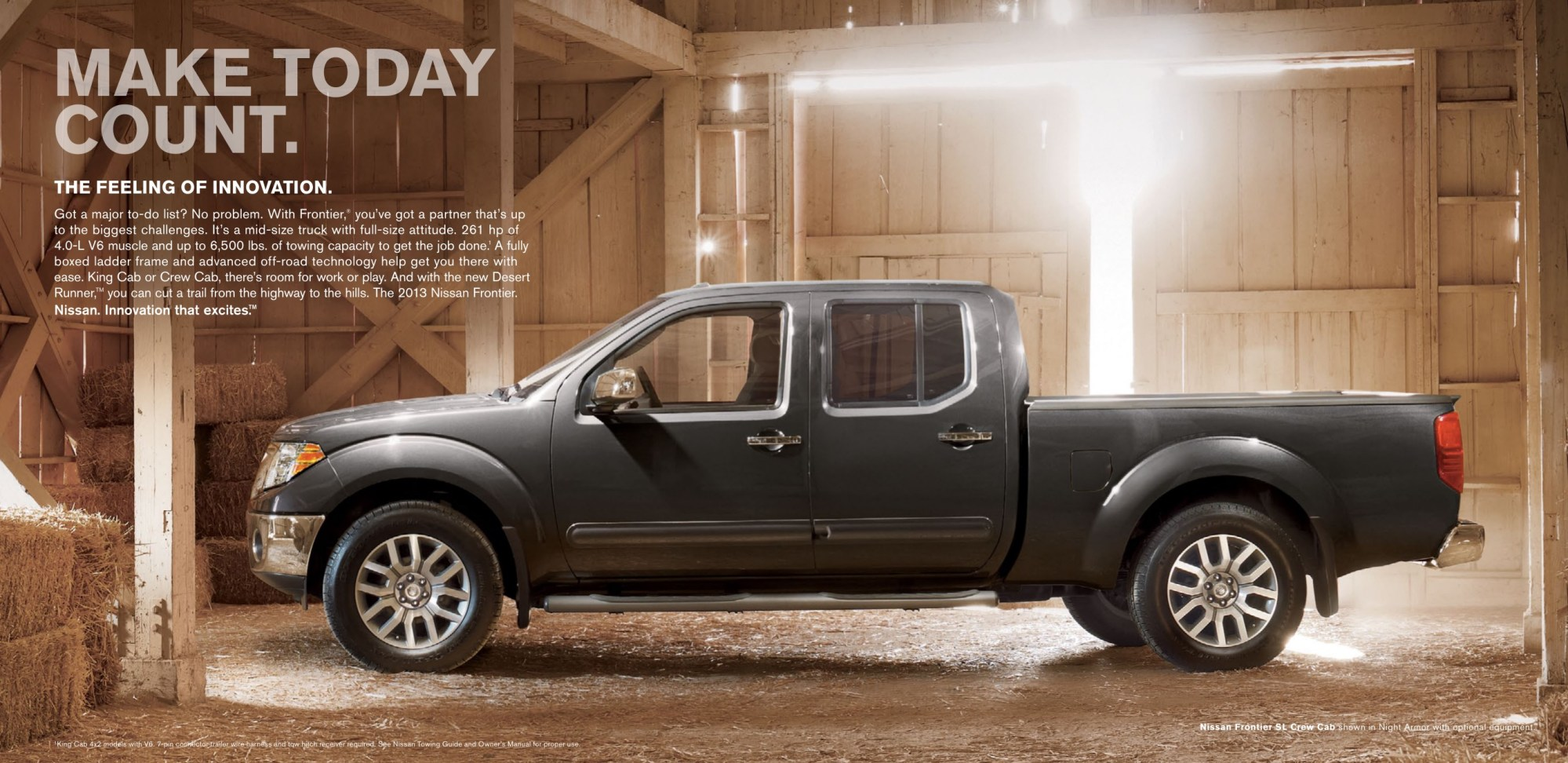 hight resolution of 2013 nissan frontier brochure page 2