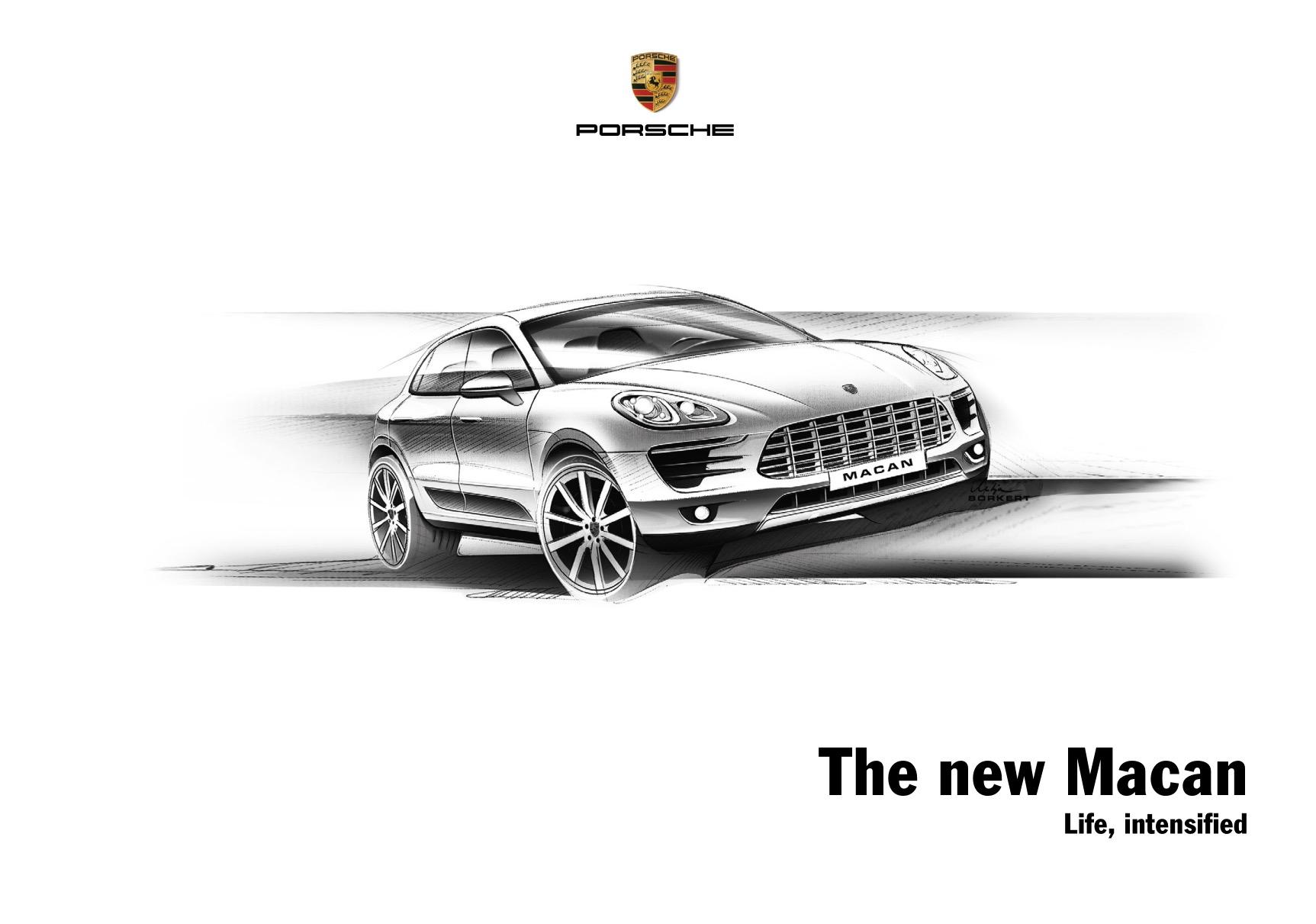 Porsche Car Brochures