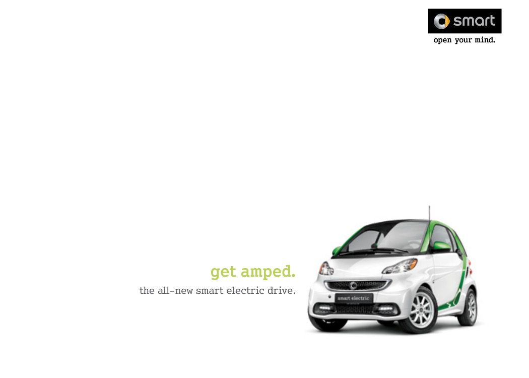 2013 Smart Fortwo Electric Brochure