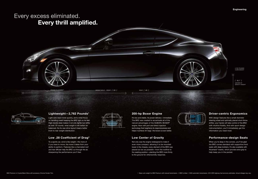 medium resolution of 2013 subaru brz brochure page 7
