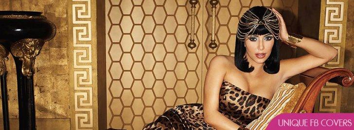 Kim Kardashian Fashion Facebook Covers Female Celebs Fb