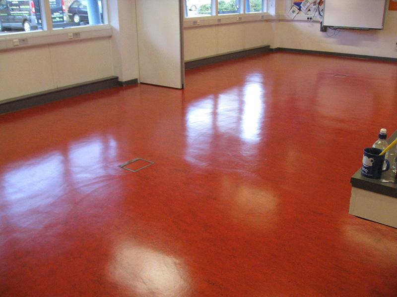 Stripping and Sealing Linoleum Floors Carshalton College