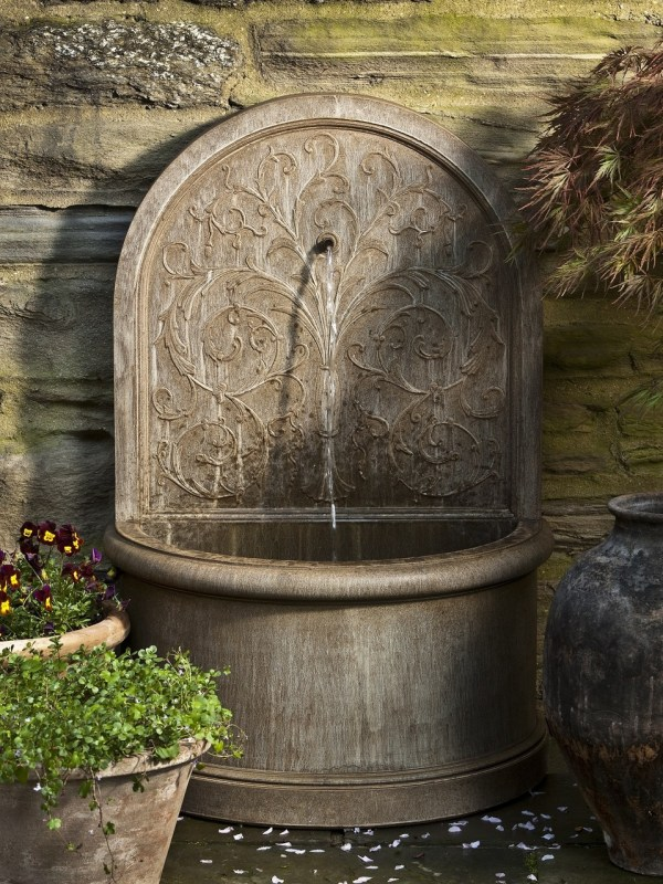 Outdoor Wall Fountain