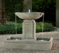 Austin Fountain - Loud Cast Stone Water Feature
