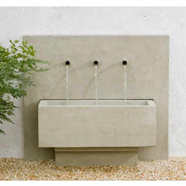 X-3 Fountain - Inviting Modern Wall
