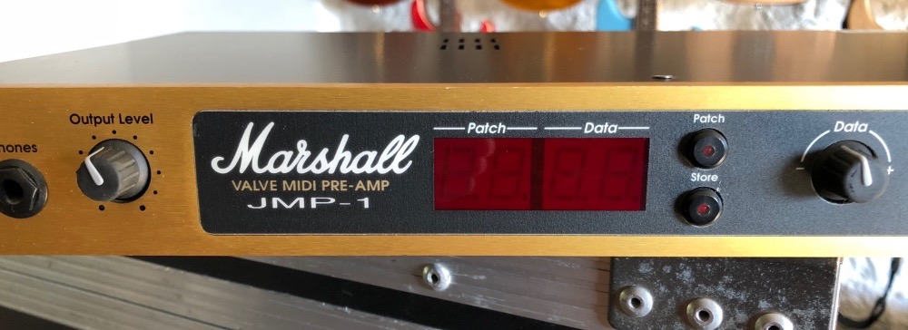 Marshall JMP-1 Valve Pre-Amp – Unique Guitars
