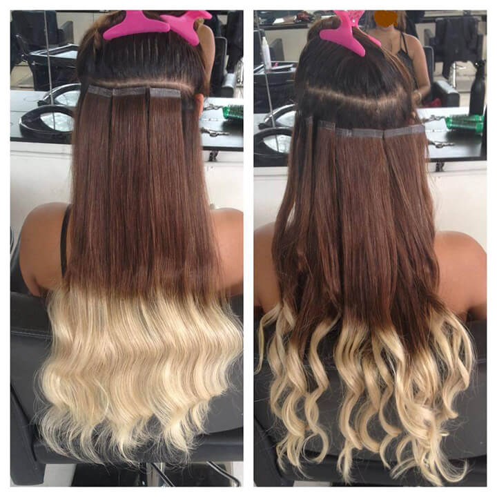 Micro Fusion Hair Extensions