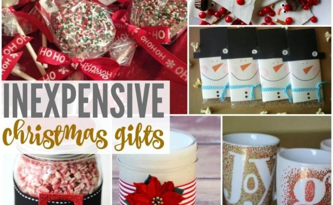 10 Spectacular Inexpensive Christmas Gift Ideas For