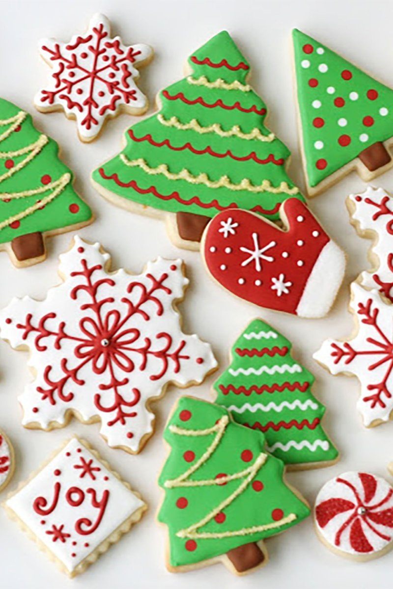 10 ideal christmas sugar cookie decorating ideas
