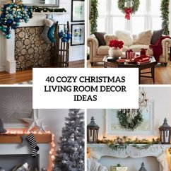 Christmas Decorating Ideas For Small Living Rooms Microfiber Room Furniture Sets 10 Pretty Decorations 40 Cozy Decor Shelterness
