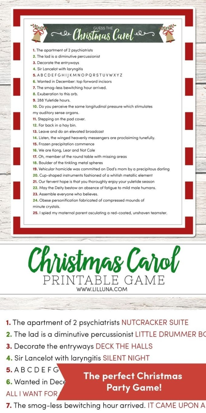 Christmas Party Games For Large Groups Office | Christmaswalls.co