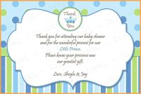 10 Cute Baby Shower Thank You Wording Ideas