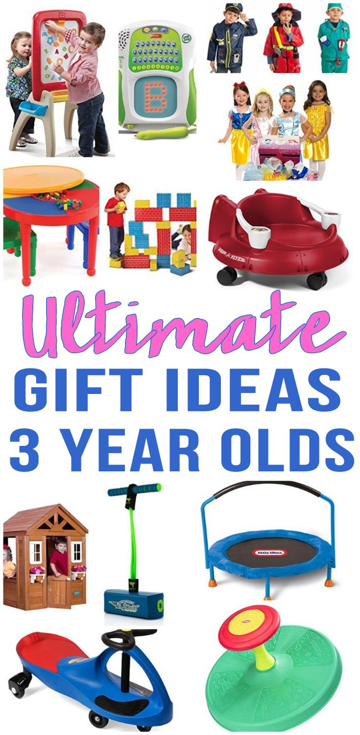 3 Year Old Christmas Gift Ideas